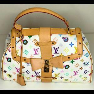 Authentic Louis Vuitton multi color handbag